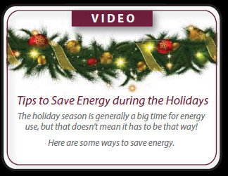 Tips to Save Energy During the Holidays