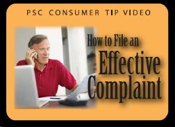 How to file an effective complaint